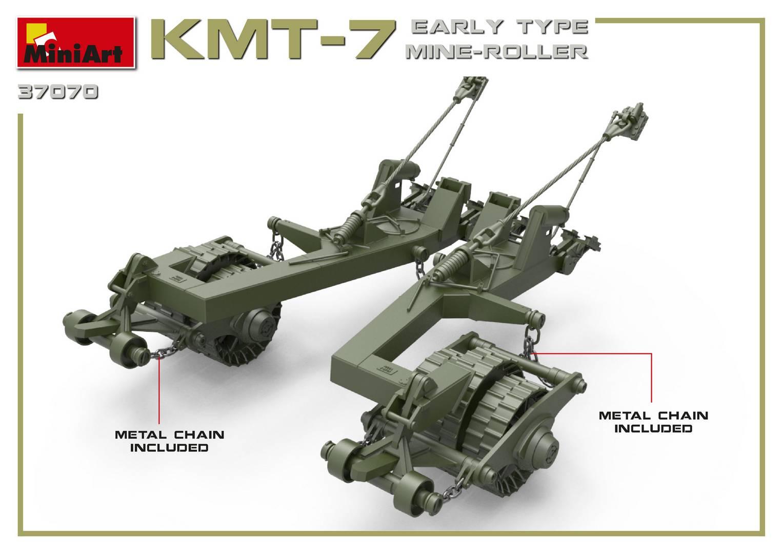 Miniart 1/35 KMT-7 Early Type Mine Roller # 37070