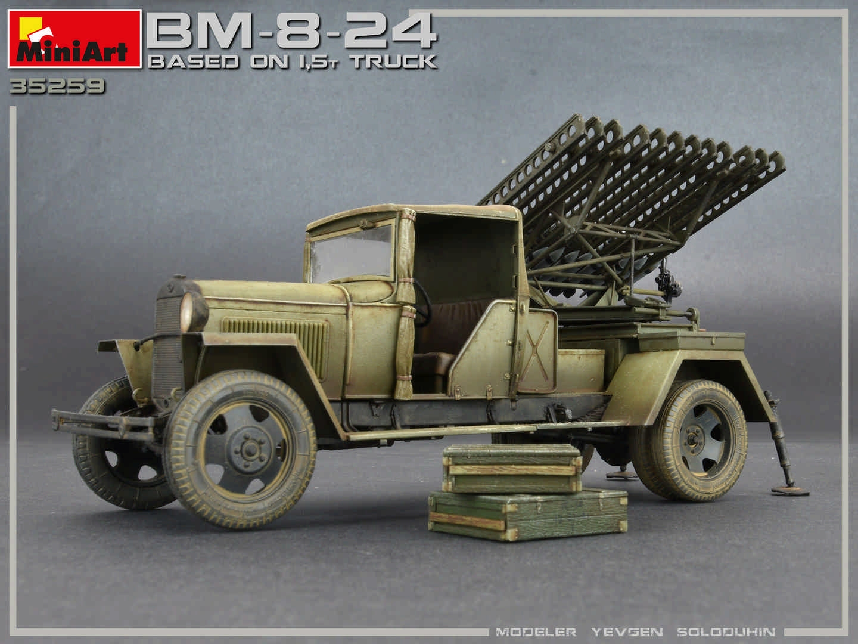 Miniart 1/35 BM-8-24 Based on 1.5t Truck # 35259