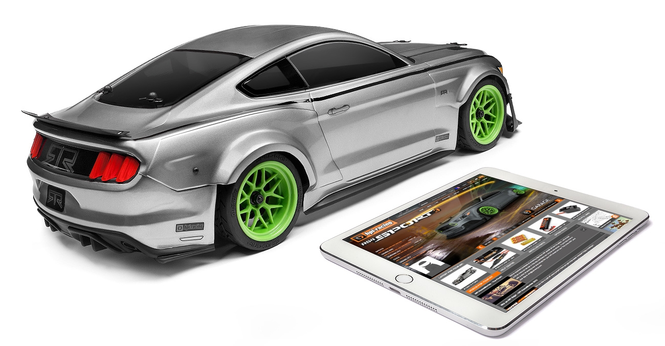 HPI Racing 1/10 RS4 Sport 3 2015 Ford Mustang Spec-5 # 115126