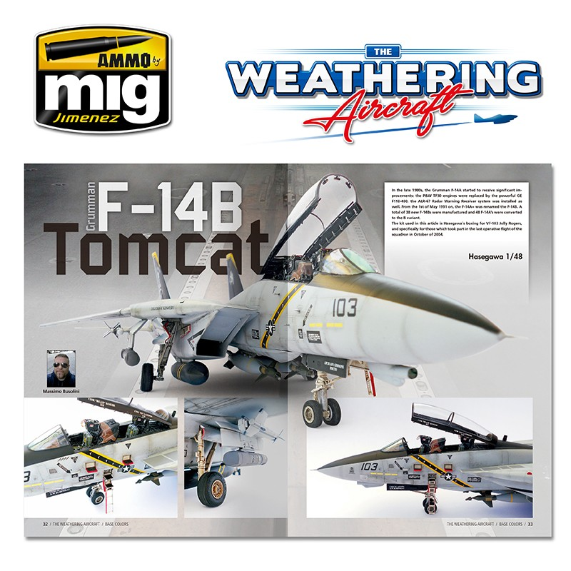 Ammo by Mig The Weathering Magazine Aircraft Issue 4 Base Colours # 5204