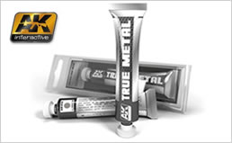 AK Interactive Metal Paints