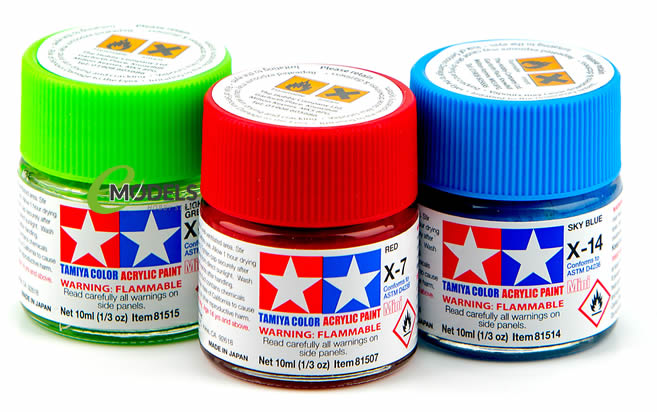 We have the full range of Tamiya 10ml Acrylic Paints in stock.