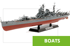 We have a wide range of Plastic Model Boats